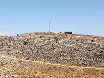 Flanc de coteau 2008 de pierre de Karmiel Images libres de droits