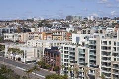 Flanc de coteau de San Diego Photographie stock libre de droits