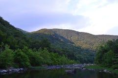 Flanc de montagne de Maurey Photographie stock libre de droits