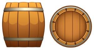 Flanco de madeira Imagem de Stock Royalty Free