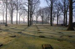 Flanders german cemetery Royalty Free Stock Photo