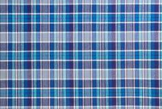 Flanell, Baumwolle in die klassische schottische Zelle als Textilhintergrund lizenzfreie stockfotos