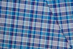 Flanell, Baumwolle in die klassische schottische Zelle als Textilhintergrund stockbilder
