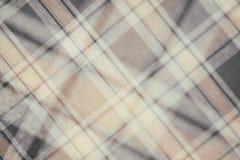 Flanell, Baumwolle in die klassische schottische Zelle als Textilhintergrund in der Weinleseart lizenzfreies stockbild