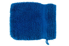 Flanelle bleue Photographie stock libre de droits