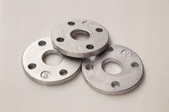 Flange di alluminio Fotografia Stock Libera da Diritti