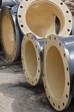 Flanged pipe Royalty Free Stock Photos