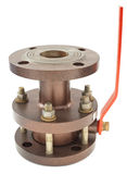 Flanged valve Royalty Free Stock Photo