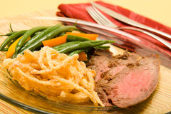 Flank steak Stock Images