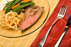 Flank steak Royalty Free Stock Images