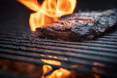 Flank Steak Griling royalty free stock photo