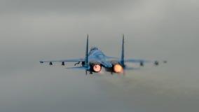 Flanker Su-27 arkivfoto