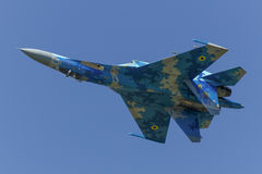 Flanker Ukrainer Sukhoi Su-27 Lizenzfreies Stockfoto