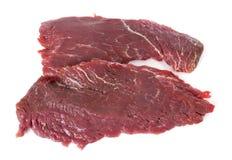 Flanklapje vlees Royalty-vrije Stock Foto