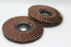 Flap abrasive disc Stock Photography