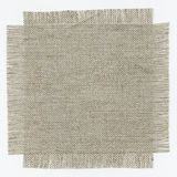 Flap burlap. As grey background Stock Photography