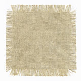 Flap burlap. As gray background Royalty Free Stock Photo