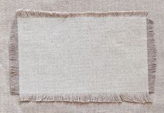 Flap burlap background Royalty Free Stock Photo