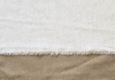 Flap cotton background Stock Photo