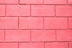 The flap of the house is made of red brick royalty free stock image