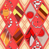Flap seamless pattern.  illustration Stock Photography