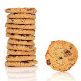 Flapjack Cookies Stock Photo