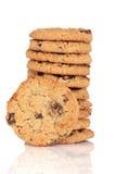 Flapjack Cookies Stock Image