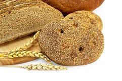 Flapjack de Rye avec du pain Image stock