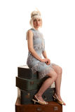 Flapper Royalty Free Stock Photo
