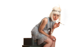 Flapper Royalty Free Stock Image