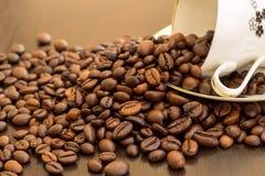 Flaque de café Image stock