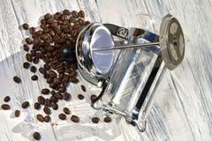 Flaque de Cafetiere images stock