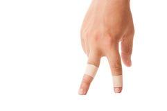 Flardvingers het lopen Stock Afbeelding