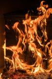 Flare blaze isolated on black. For background stock image