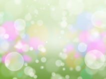 Flare bokeh background Stock Photo