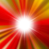 Flare bright shiny star Stock Photo