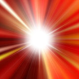 Flare bright shiny star. With lined background Royalty Free Stock Photo