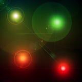 flares объектив Стоковые Фото