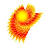flaring множественная звезда Стоковое фото RF