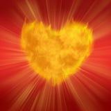 Flaring Heart Stock Photos