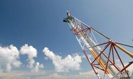 flary boom platformy gazu wentylacja Zdjęcia Royalty Free
