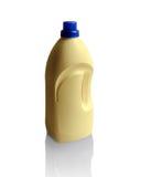 Flasche Abwaschflüssigkeit auf Weiß Stockbilder