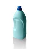 Flasche Abwaschflüssigkeit lokalisiert auf Weiß Stockbilder