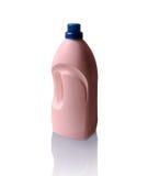 Flasche Abwaschflüssigkeit lokalisiert auf Weiß Lizenzfreies Stockbild