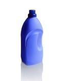 Flasche Abwaschflüssigkeit lokalisiert auf Weiß Stockfotografie