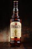 Flasche Bell schottischer Whisky stockfoto
