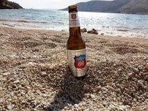 Flasche Bier Lizenzfreies Stockbild