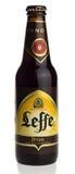 Flasche Bier Belgier Leffe Bruin Stockbild