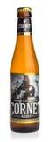 Flasche blondes Bier Kornett Oaked Lizenzfreies Stockbild