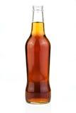 Flasche Cola lokalisiert auf Weiß Lizenzfreie Stockfotografie